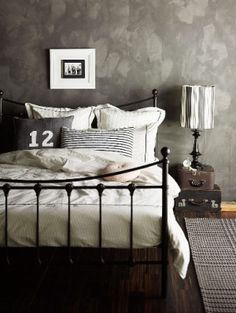 Ordinaire Ideias Para Decoração Do Quarto | Industrial Chic Bedrooms, Industrial Chic  And Industrial
