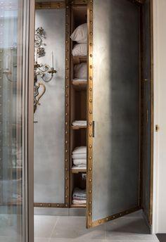 Rupert Bevan - Interior Design London | Interior Finishes - Patinated ZincCladding