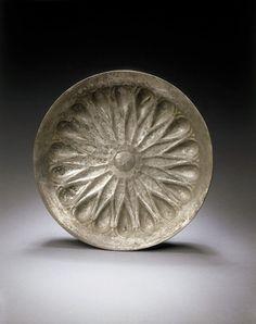 An Achaemenid silver phiale, circa 5th century B.C.