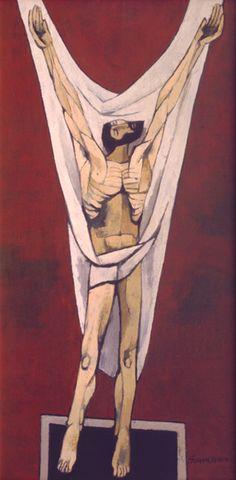 Guayasamin - Cristo 2