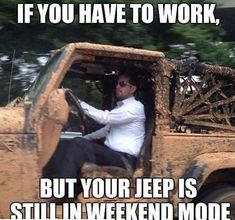 This is my husband! I like my jeep to stay clean and white ! Shared by Motorcycle Fairings - Motocc
