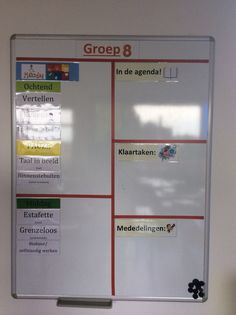 Planbord groep 8 Classroom Organization, Classroom Management, Team Teaching, Classroom Arrangement, Visible Learning, Leader In Me, Life Hacks For School, Primary School, Planer