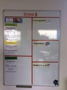 Planbord groep 8