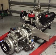 Got Power - Yeah sure knows how to take getting boost to the next level! Motor Engine, Car Engine, Chevy Motors, Mechanic Humor, Performance Engines, Race Engines, Drag Cars, Drag Racing, Hot Cars