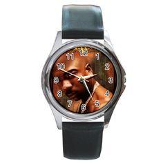 Ja Rule Round Metal Watch
