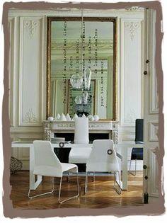 have some decorum: Parisian Apartment. Part Huit. L'appartement: La Cheminée.