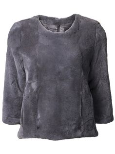 CO - knitted fur sweater 6