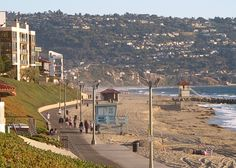 Evening Walk along Redondo Beach, CA. For more on romantic California getaways near Los Angeles, see Excellent Romantic Vacations.com