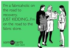 Just kidding!!!   #sewing #humor #quilting #quilt