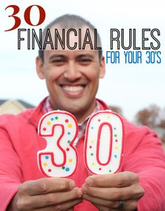 30 Financial Rules That Every 30 Year-Old Should Know (or risk going broke – Finance tips, saving money, budgeting planner Financial Peace, Financial Tips, Financial Planning, Retirement Planning, Dave Ramsey, Ways To Save Money, Money Tips, Money Saving Tips, Managing Money