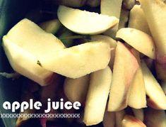 How to Make Homemade Apple Juice