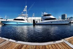 Two Viking 76's at the Fort Lauderdale International Boat Show | HMY Yachts | #FLIBS #HMYatFLIBS