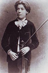 young Fritz Kreisler
