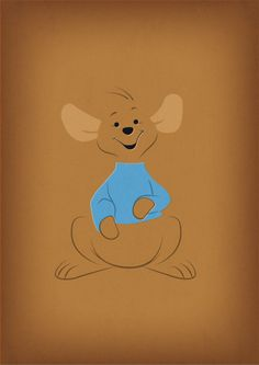 "Winnie the Pooh Decal ""Roo"" Nursery Decor Printable by TheRetroInc"