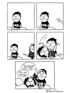 154 Hilarious Relationship Comics That Perfectly Sum up What Every funny relationship - Relationship Goals Sarah Andersen, Funny Shit, Hilarious, Funny Stuff, Funny Gifs, Funny Humor, Random Stuff, Sarah Anderson Comics, Sarah's Scribbles