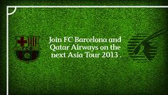 I just registered with Qatar Airways for a chance to be their VIP guest at the FC Barcelona Asia Tour in Bangkok and Kuala Lumpur. Help me win by registering also, as I will get another chance to win thanks to you!