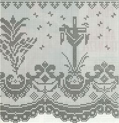 Lily altar filet crochet - Buscar con Google