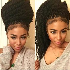 STYLIST FEATURE  Love these #marleytwists on @zahrajamila done by #NYStylist and #LAStylist @TheShelbySwain❤️ Love that baby hair #VoiceOfHair