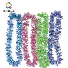 BOSHENG Colorful Luau Flower Leis Necklaces for Tropical Island Beach Theme Party Event, Birthday Supplies, Costume,Set of 4 BOSHENG http://www.amazon.com/dp/B01E6EM47W/ref=cm_sw_r_pi_dp_qWzdxb1ZFA0S9