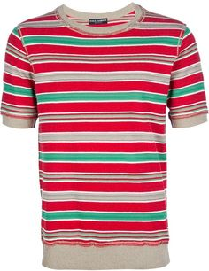Striped Tshirt - Lyst