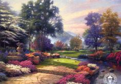 http://files.myopera.com/sonya/albums/176922/Thomas%20Kinkade%20-%20Living%20Waters.jpg  Living Waters