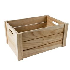 Discover recipes, home ideas, style inspiration and other ideas to try. Pallet Crates, Wood Crates, Wooden Pallets, Wood Boxes, Bois Diy, Wooden Planters, Pallet Creations, Diy Holz, Diy Pallet Furniture