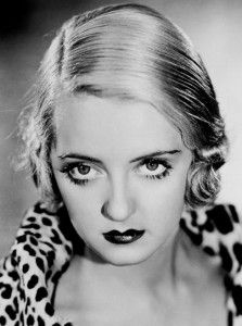 The classic Bette Davis. Just look at those eyes.