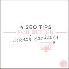 4 SEO Tips For Better Search Rankings ||  #SEO #SearchEngineOptimization #SEM #SearchEngineMarketing #SEOHacks #SEOStrategy #SearchRanking #SEOTips #TheInspiredBrand #ShineOnline