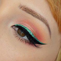 ✿ Trendy Glitter Eyeliner Ideas ✿