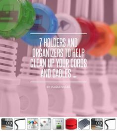 7 #Holders and Organizers to Help Clean up Your Cords and Cables ... - #Lifestyle