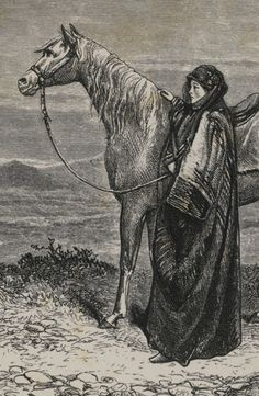 Blunt, Lady Anne BEDOUIN TRIBES OF THE EUPHRATES... WITH... SOME ACCOUNT OF THE ARABS AND THEIR HORSES. LONDON: JOHN MURRAY, 1879, 2 VOLUMES, 12 PLATES, FOLDING COLOURED MAP, FOLDING PEDIGREE OF THE ARABIAN THROUGHBRED STOCK, 32PP. ADVERTS DATED MAY 1878 IN VOL.2, SOME PENCIL MARKINGS