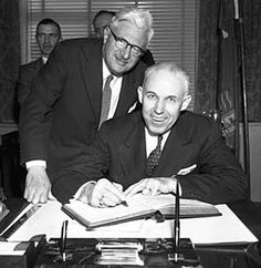 Canadian Gold...Through the eyes of Ron Silver: Clarence Campbell NHL President and the Quakers