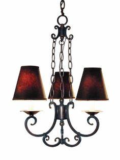 Woodbridge Lighting 15025-AUB Montgomery 3-Light Chandelier, Auburn Woodbridge Lighting http://www.amazon.com/dp/B00CWAAYWA/ref=cm_sw_r_pi_dp_Yk0kub1Q7KX4A