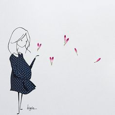 La gravidanza è un processo che invita a cedere alla forza invisibile che si nasconde nella vita. -Judy Ford (Dedicata a tutte le mamme, ma soprattutto a tutte le future mamme del mondo) - Sul blog (link in bio ) un nuovo post condito da avvertenze e considerazioni semiserie sui primi mesi di una gravidanza a caso.. La mia  Presente nel post @enviedefraise  #virginiasdraws