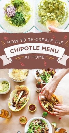 Here Are The Recipes For Everything On The Chipotle Menu