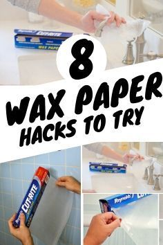 Try these 6 wax paper hacks in your home and you'll be shocked by the outcome. It's truly incredible. Cleaning Recipes, House Cleaning Tips, Diy Cleaning Products, Cleaning Hacks, Cleaning Supplies, Household Organization, Organization Hacks, Organizing, Diy Cleaners