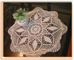 Crochês de Analu: Naperon, ou simplesmente .. Toalhinha