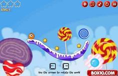 Online game for kids Sweet Country Collect sweets
