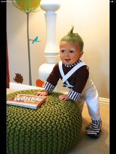 Oompa Loompa outfit!
