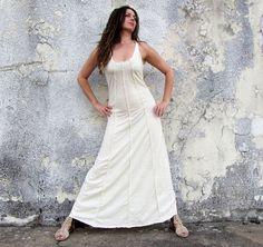 Lovely Day Long Dress  light hemp/organic by gaiaconceptions, $165.00