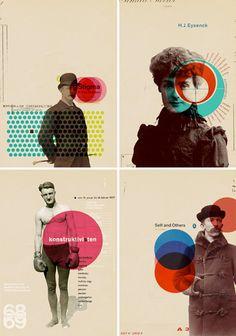 Idées graphic pour un portrait #yearbook #fusionbooksfrance.. IT'S RETRO @Heather Wroth