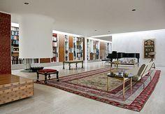 Dream space. WOW!! Eero Saarinen. Miller House, Columbus, Indiana.  1957