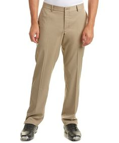 NIKE NIKE GOLF MEN'S FLAT FRONT PANT. #nike #cloth # Nike Golf Men, Nike Men, Golf Outfit, Khaki Pants, Mens Fashion, Flats, Clothes, Shopping, Style