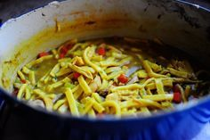 It's coming into autumn, people! I'm anxious to make this! Pioneer Woman Homemade Chicken and Noodles.