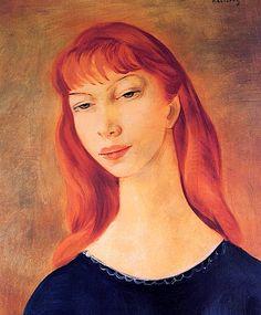 Woman's Head - Moise Kisling