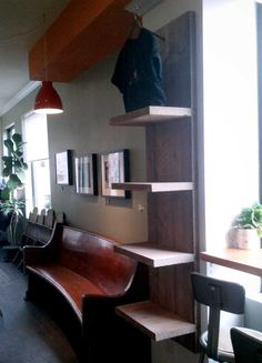 Wood Stock Works is a woodworking studio in Toronto specializing in custom-made furniture and design for the urban dweller! Custom Made Furniture, Furniture Making, Corner Desk, Toronto, Bookcase, It Works, Woodworking, Shelves, Urban