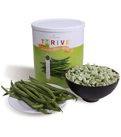 Green Beans - Freeze Dried #10 can.  ECA LISTING BY GHIMPS, Spangle, Washington, United States