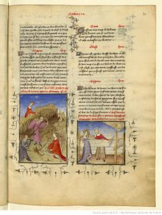 L'Epistre Othea à Hector, fol Age Of Discovery, Early Modern Period, Late Middle Ages, Bnf, Medieval Art, Illuminated Manuscript, 15th Century, Roman Empire, Illustrations