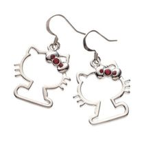 Hello kitty pierced earring