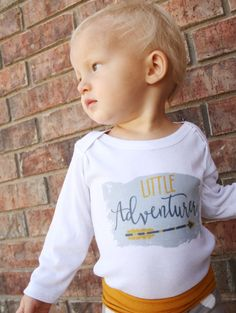 Check out this item in my Etsy shop https://www.etsy.com/listing/467449854/little-adventurer-baby-bodysuit